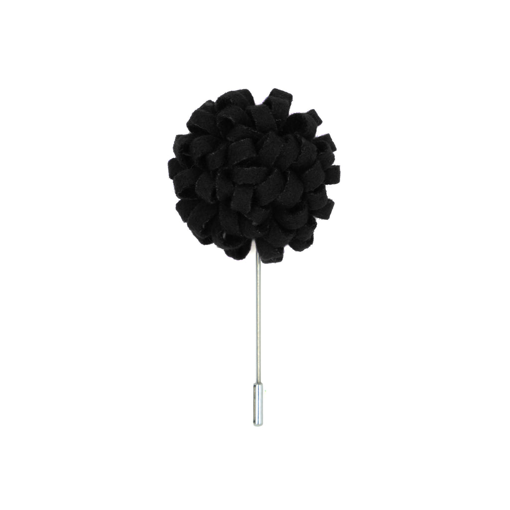 Manzu 51 Black Lapel Pin