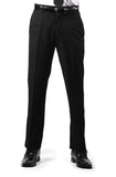 Premium Mens MP101 Black Regular Fit Dress Pants - FHYINC best men's suits, tuxedos, formal men's wear wholesale