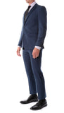 Oslo Navy Slim Fit Notch Lapel 2 Piece Suit - FHYINC best men's suits, tuxedos, formal men's wear wholesale