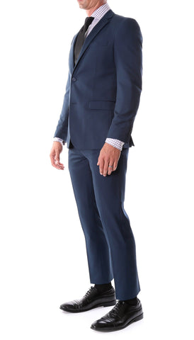 Oslo Navy Slim Fit Notch Lapel 2 Piece Suit