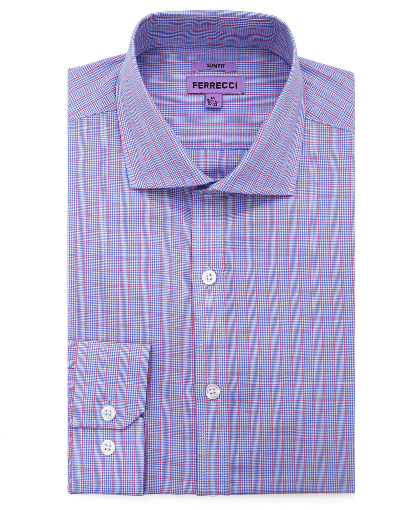 The Princeton Slim Fit Cotton Dress Shirt - FHYINC best men