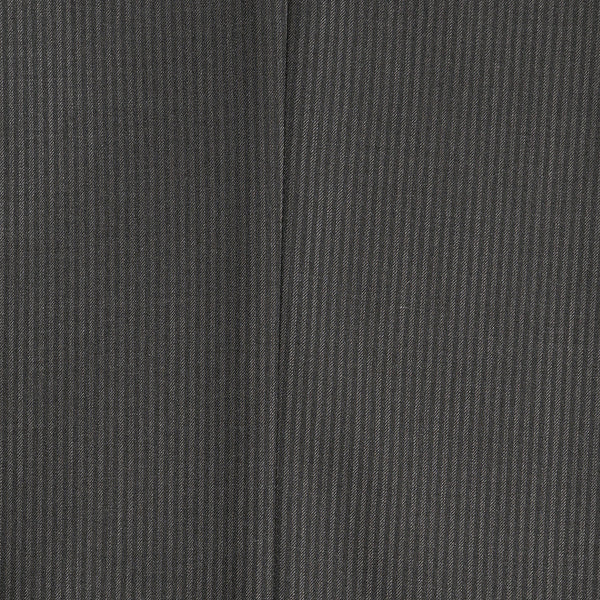 Parker Slim Fit Charcoal Striped Tone on Tone Wool Suit