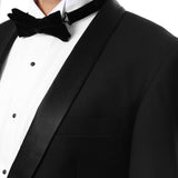 The Reno Mens Black Shawl Collar 2pc Tuxedo - FHYINC