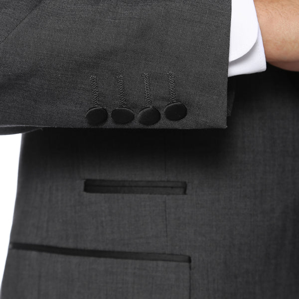 The Reno Mens Grey Shawl Collar 2pc Tuxedo - FHYINC best men's suits, tuxedos, formal men's wear wholesale