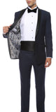 The Reno Mens Navy Shawl Collar 2pc Tuxedo - FHYINC best men's suits, tuxedos, formal men's wear wholesale