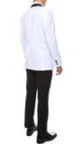 The Reno Mens White Shawl Collar 2pc Tuxedo - FHYINC