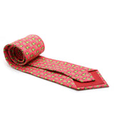 Cow Coral Necktie with Handkerchief Set - FHYINC best men's suits, tuxedos, formal men's wear wholesale