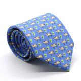 Cow Royal Necktie with Handkerchief Set - FHYINC best men's suits, tuxedos, formal men's wear wholesale