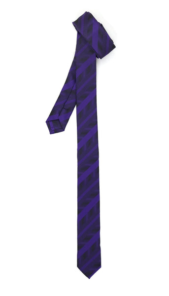 Super Skinny Stripe Slim Tie