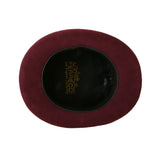 Premium Wool Burgundy Top Hat - FHYINC best men's suits, tuxedos, formal men's wear wholesale