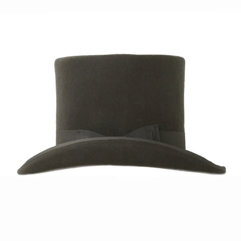 Charcoal Wool Top Hat