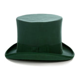 Premium Wool Hunter Green Top Hat - FHYINC best men's suits, tuxedos, formal men's wear wholesale