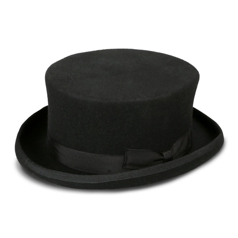 Men's Black Stout Top Hat