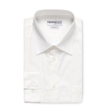 Ferrecci Virgo White Regular Fit Dress Shirt - FHYINC best men's suits, tuxedos, formal men's wear wholesale