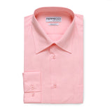 Ferrecci Virgo Pink Regular Fit Dress Shirt - FHYINC best men's suits, tuxedos, formal men's wear wholesale