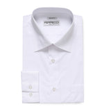 Ferrecci Virgo Snow White Regular Fit Dress Shirt - FHYINC best men's suits, tuxedos, formal men's wear wholesale
