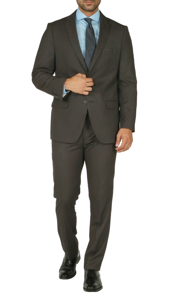 Windsor Charcoal Slim Fit 2pc Suit - FHYINC best men
