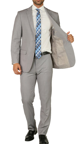 Windsor Light Grey Slim Fit 2pc Suit