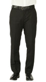Windsor Black Slim Fit 2pc Suit - FHYINC best men's suits, tuxedos, formal men's wear wholesale