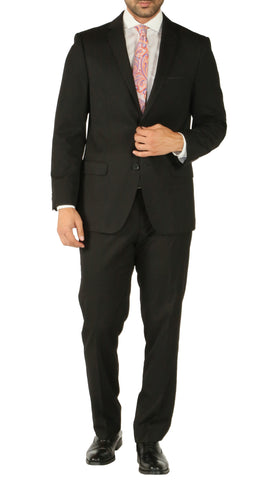 Windsor Black Slim Fit 2pc Suit