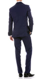 Celio Tux Premium Men's Slim Fit 3 pc Tuxedo Navy - FHYINC