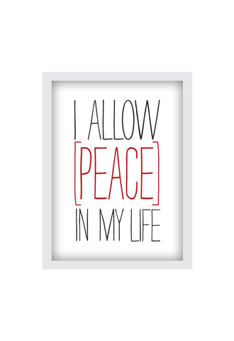 I ALLOW PEACE