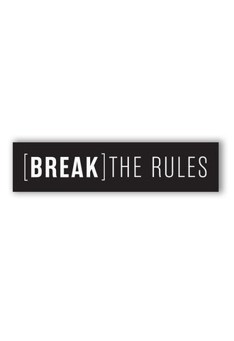 LONG BLOCK - BREAK THE RULES