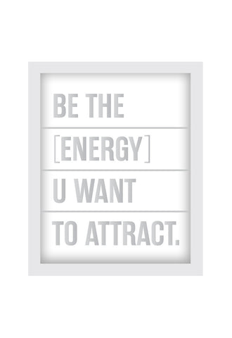 MEDIUM SHADOW BOX - BE THE ENERGY