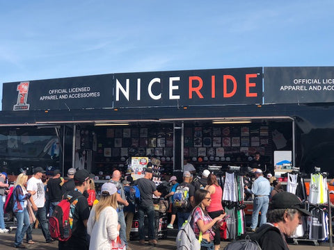 NICERIDE fans at the races.