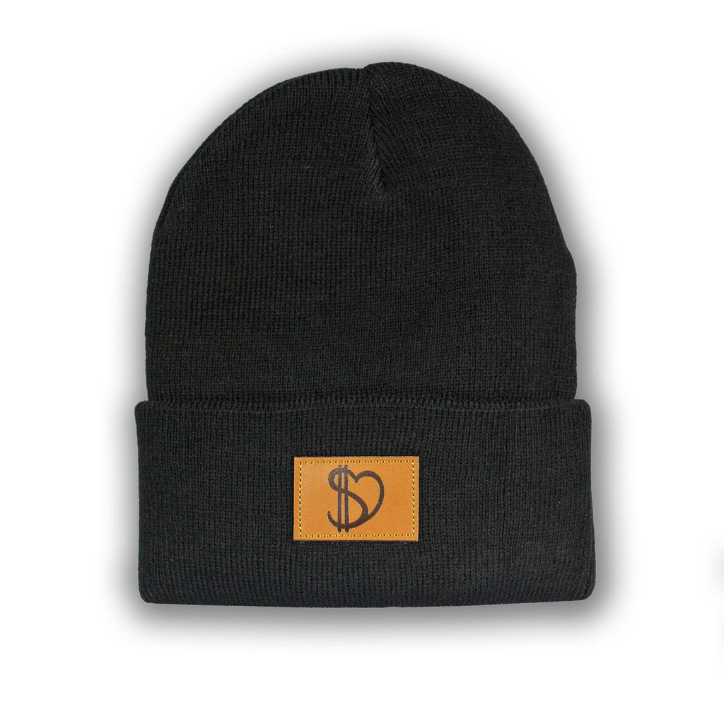 leather patch beanie duro threads new york streetwear brand usd