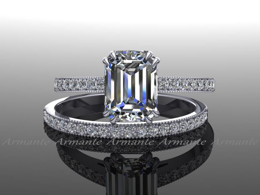 Moissanite and Diamond Sets