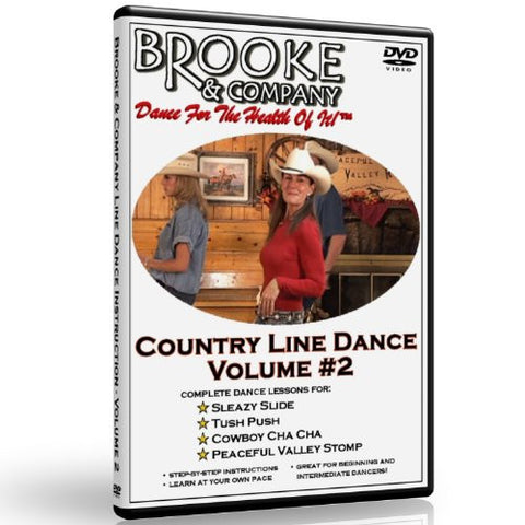 Country Line Dance Volume #2 - Line Dance Lessons by Brooke & Company