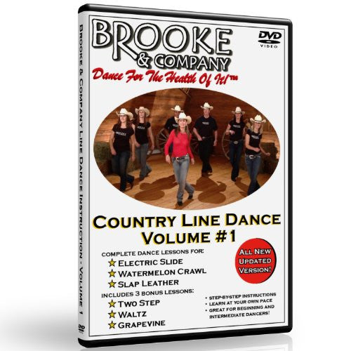 Country Line Dance Volume #1 - Beginning Line Dance Lessons