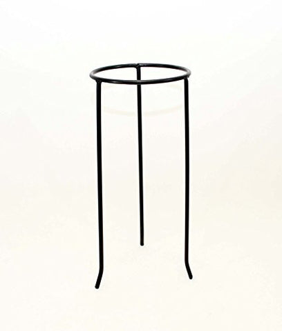 Wrought Iron Tripod Base-18.25 Inches High x 7.5 Inches Diameter.