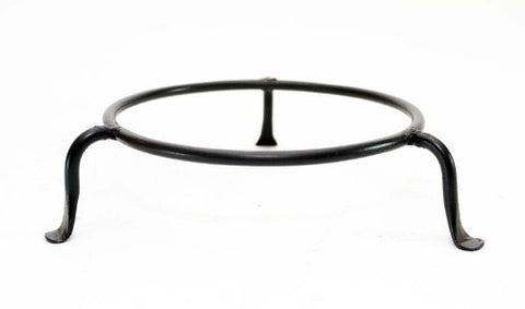 Basic Wrought Iron Display Ring Stand, Bronze Color- 5.5 Inches Diameter x 1 7/8 Inches High.