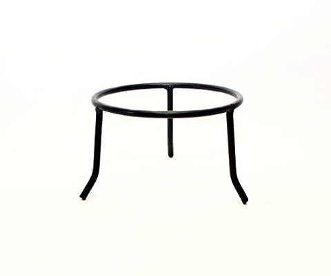Wrought Iron Tripod Base-5.5 Inches High x 7.5 Inches Diameter.