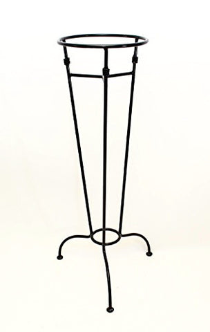 Versatile Iron Garden Stand-30 Inches High x 8.75 Inches Diameter x 13 Inches Wide, Great for gazing balls