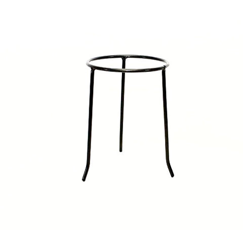 Wrought Iron Tripod Base-11.25 Inches High x 7.5 Inches Diameter.