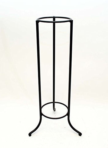 Handmade Iron Ring Display Stand, Bronze Color- 20 Inches High x 9.75 Inches Wide