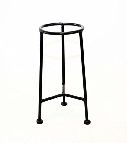 Handmade Iron 3 Bar Display Stand, Bronze Color- 12 Inches High x 6 7/8 Inches Wide