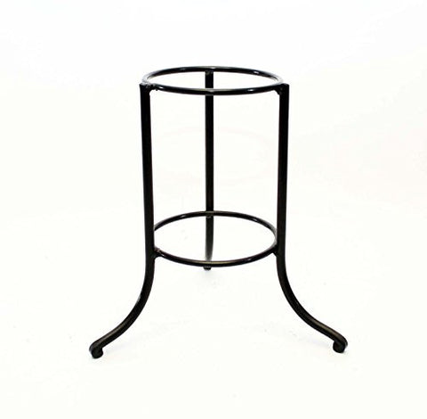 Handmade Iron Ring Display Stand, Bronze Color-10 Inches High x 9.75 Inches Wide