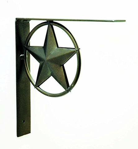 Iron Star Bracket- 8 Inches Tall
