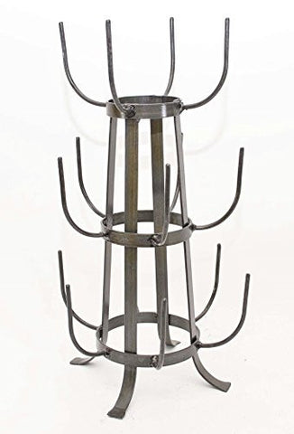 Reproduction Mug Drying Rack- 20.5 Inches High X 11 Inches Wide