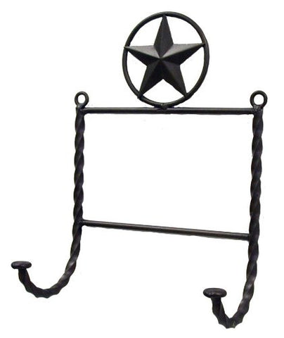 "STAR DOUBLE HAT HOOK-7.5""W X 12""H."