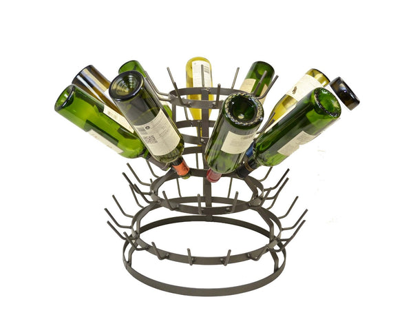 Wine Bottle Drying Rack 19 Quot High X 21 Quot Wide Holds 64