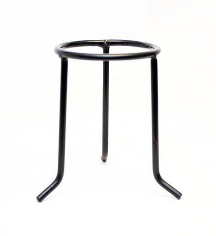 Wrought Iron Tripod Stand-7.75 Inches Tall, Inside Diameter of the ring is 4 7/8ths Inches