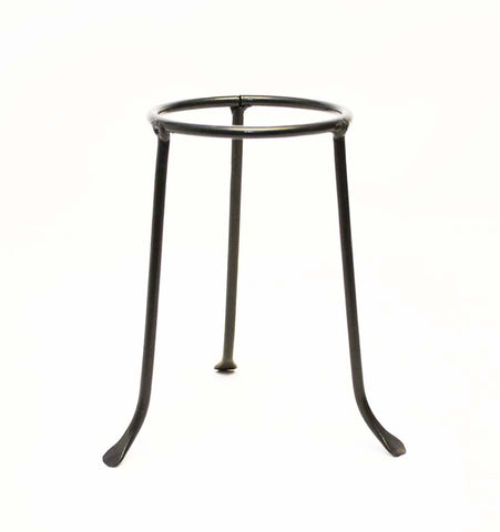 Iron Tripod Base-6.5 Inches Tall by 3.5 Inch Ring