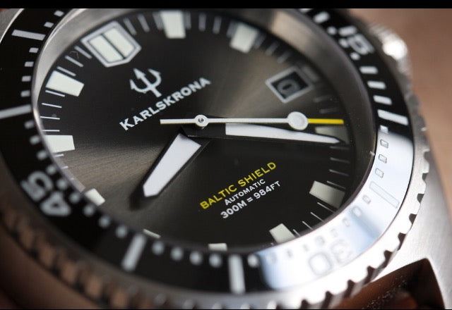 Karlskrona Baltic Shield Tactic Dive Watch