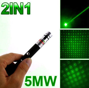 Green Laser Pointer Star Pen - New Found Deals