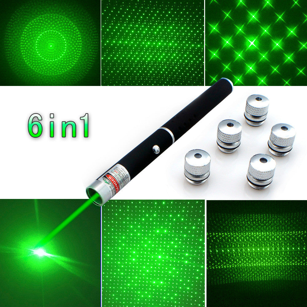 Top Quality 6in1 Laser Pointer Pen - New Found Deals